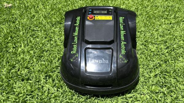 Robot-lawn-mowers-australia-exgain-front-view-e1800t