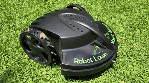 front-angle-robot lawn mowers australia-tc-g158