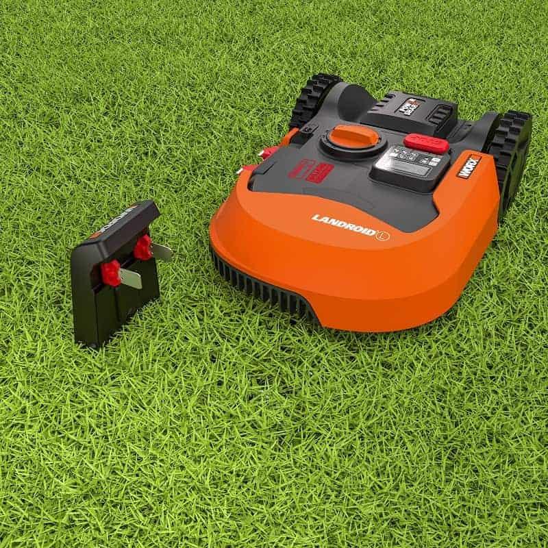 worx landroid wr139e robot lawn mowers australia. Black Bedroom Furniture Sets. Home Design Ideas