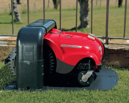 Ambrogio l250i Elite recharging battery