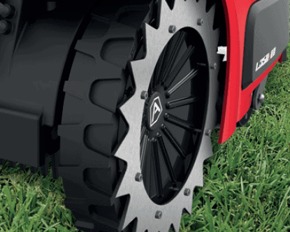 Ambrogio L350i Elite Robot wheel spikes