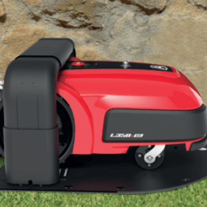 Ambrogio L350i Elite Robot in charging station