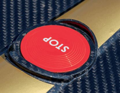 Ambrogio L400i stop button
