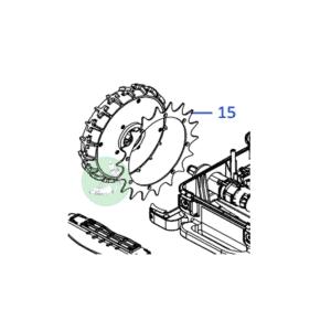 Ambrogio Wheel Spike L30 L32 L35 - 2