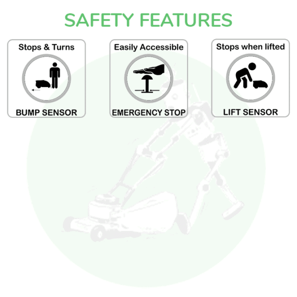 Victa RM100 Safety Features