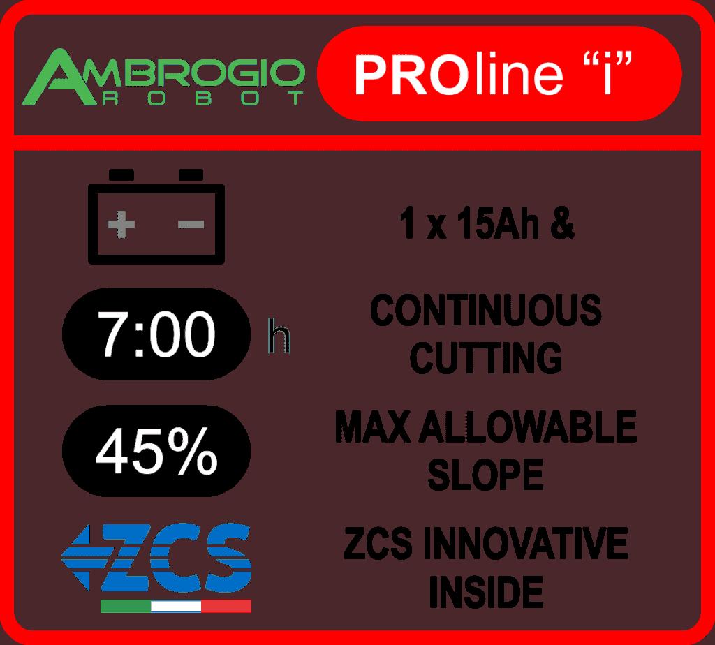 Ambrogio - L350i Elite features