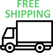 Free shipping logo - Robot lawn mowers Australia