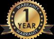 Warranty Logo 1 yr